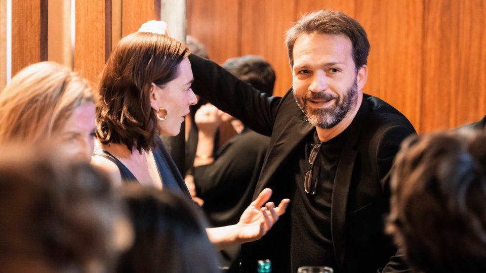 Christiane Paul und Mathias Herrmann / © Florian Liedel · Deutsche Filmakademie