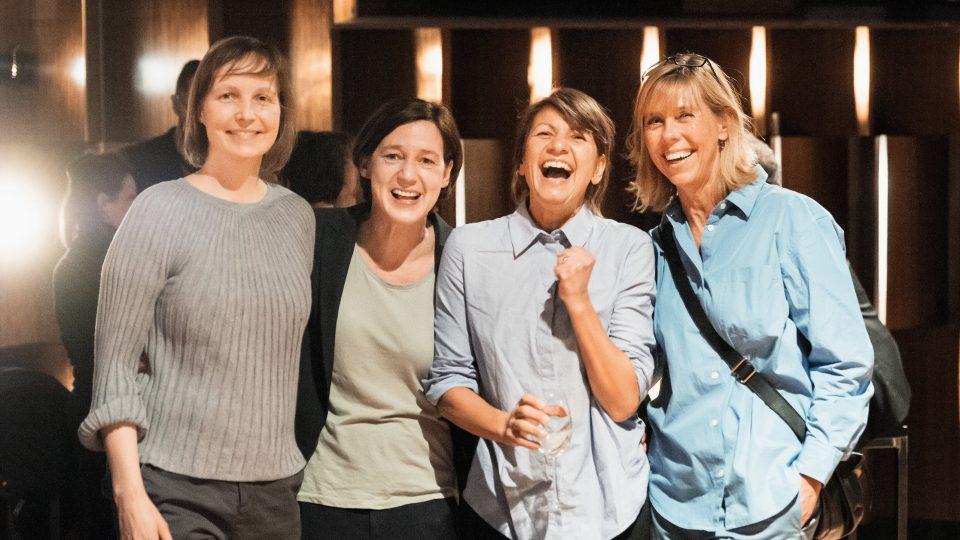 Melanie Berke, Anne Leppin, Sigrid Hoerner, Elke Sasserath / © Florian Liedel · Deutsche Filmakademie