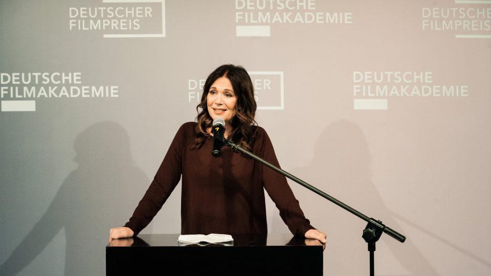 Iris Berben / © Florian Liedel · Deutsche Filmakademie
