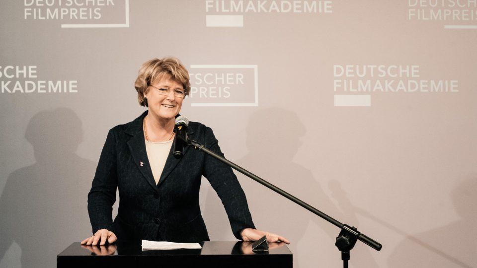 Monika Grütters / © Florian Liedel · Deutsche Filmakademie