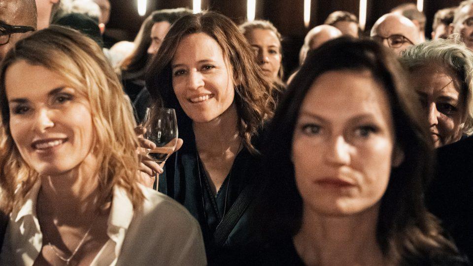 Andrea Lüdke, Regula Grauwiller, Nina Kronjäger / © Florian Liedel · Deutsche Filmakademie