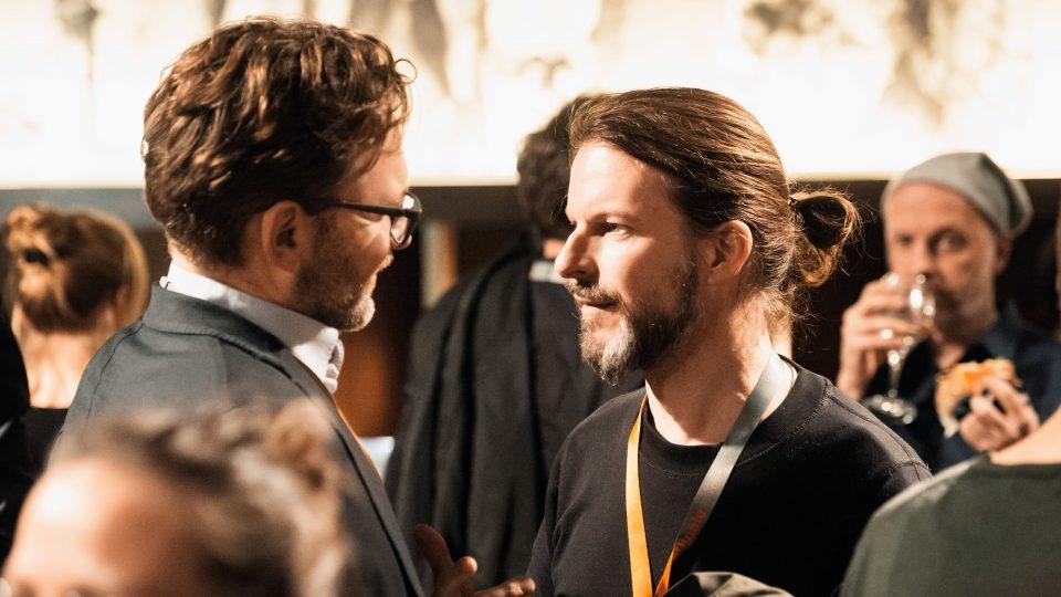 Christoph Gröner & Thorsten Schaumann / © Florian Liedel · Deutsche Filmakademie